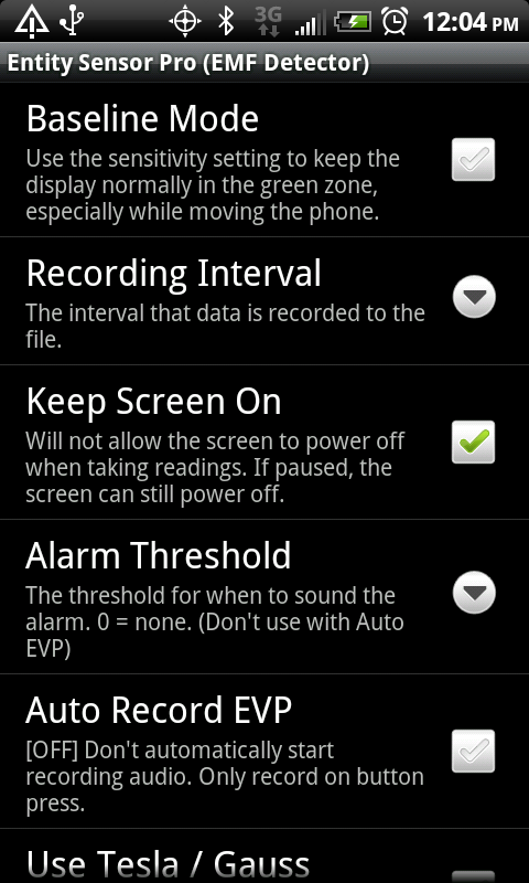 Entity Sensor Pro - ghost adventure on Android